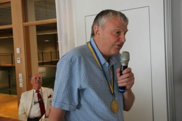 Och så var det dags för Queens Managing Director - Arne Eriksson.