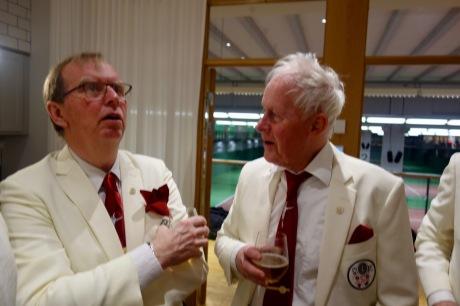 """Gutta: """"När spelade du Wimbledon sist?"""" Tennyson: """"Svår fråga. Det var ju flera gånger."""""""