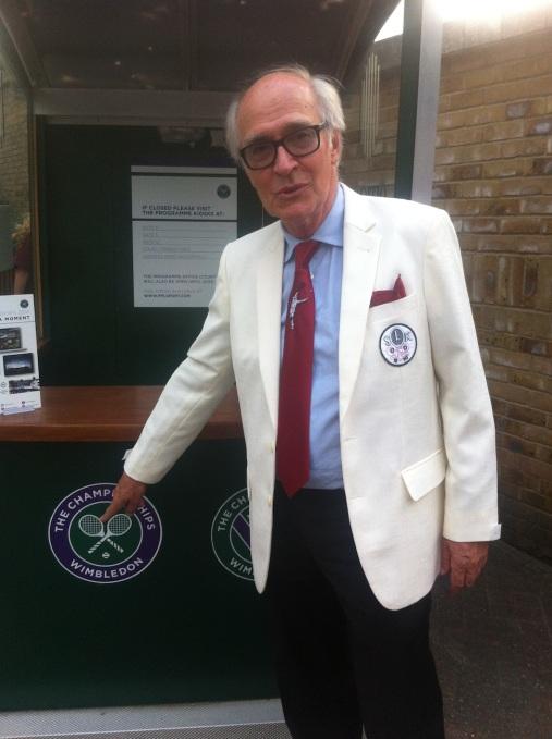 Jan Perten i Wimbledon